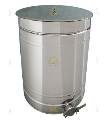 Aftapvat RVS 200 liter
