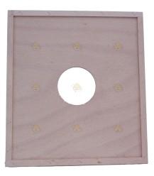 Simplex / WBC houten dekplank 45,5 x 40,5 cm