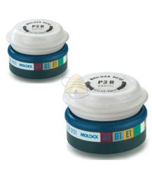 Half gelaatsmasker filters tegen mierenzuur dampen