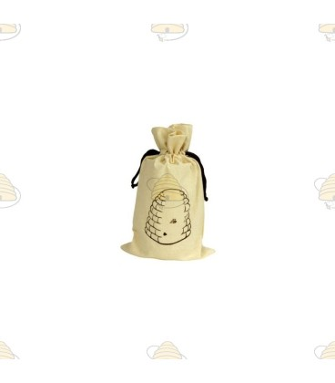 Tasje bijenkorfje voor honingpot (van katoen)
