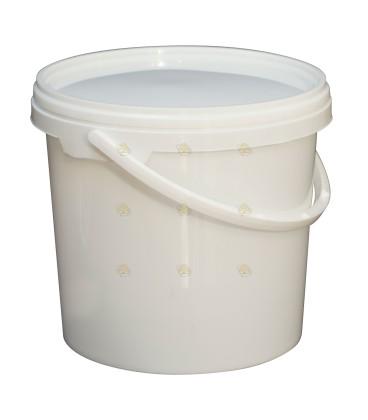 Emmer voor 4 kg honing, incl. deksel