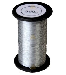 RVS draad 1000 gram  0,4 mm