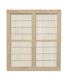 Spaarkast houten koninginnerooster 47,2 x 42,1 cm