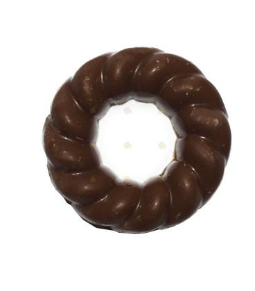 Honing melkchocolade kerstkrans