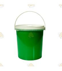 Fris groen bijenkast verf 1 liter