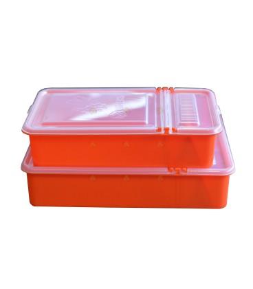 Voerbakje 0,8 liter orange
