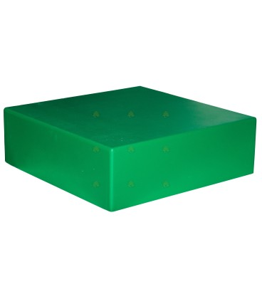 Dak spaarkast groen gelakt polystyreen