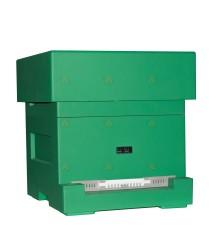 Spaarkast Starter groen gelakt polystyreen