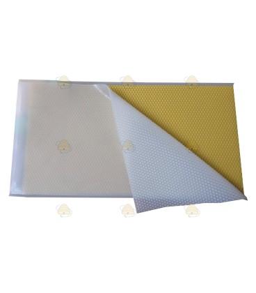 Siliconen wafelmap, 21,8 x 41,6 cm