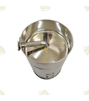 Konisch aftapvat RVS 50 liter (70 kg)