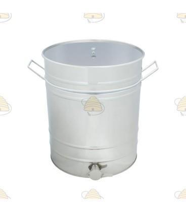 Aftapvat RVS 100 liter