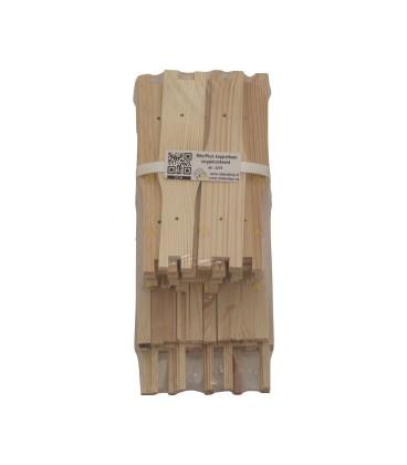MiniPlus ramen ongemonteerd koppelbaar (hout) per 10 stuks