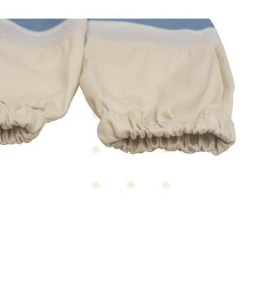 Handschoenen met ventilatie (rubber & katoen)