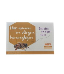 NBV waarschuwingsbordje