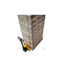 Pallet Simplex broedkamer gemonteerd grenen horizontaal (81 sets)