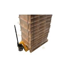 Pallet Simplex honingkamer gemonteerd grenen horizontaal (126 sets)