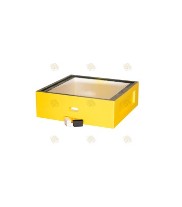 Honingkamer spaarkast geel gelakt polystyreen