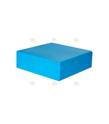 Dak spaarkast blauw gelakt polystyreen