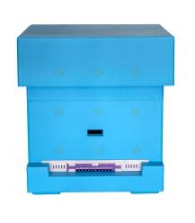 Spaarkast Starter blauw gelakt polystyreen