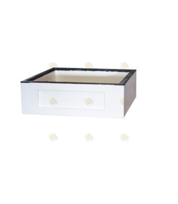 Honingkamer spaarkast wit polystyreen
