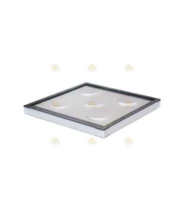 Tussenbodem spaarkast wit polystyreen