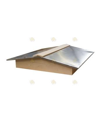 Schuin dak voor de spaarkast
