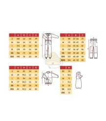 Maattabel BeeFun imkerkleding en tips voor gebruik