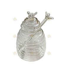 Honing serveerpot groot
