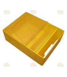Onderste deel voerbak, 2 liter geel