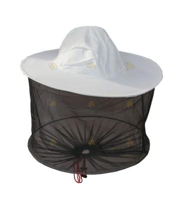 Imkerkap Easy met gaas rondom (hoed & afstandsring)