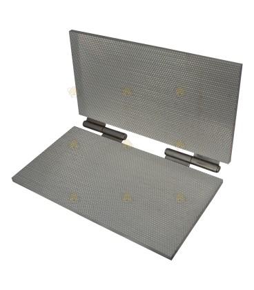 Kunstraatpers aluminium 4,9 mm