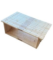 Simplex Belgische honingkamer verticaal gemonteerd