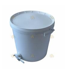 Aftapvat kunststof 20 liter