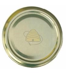 Deksel goudkleurig, 58 mm TO, 75 stuks