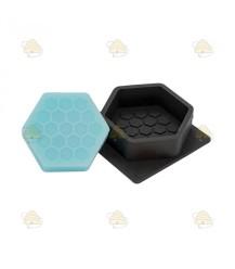Gietvorm voor hexagonaal honingzeepje