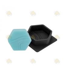 Gietvorm voor hexagon zeepje