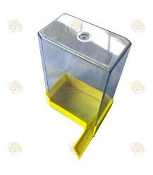 Vliegspleet voerbak vierkant 1100 ml