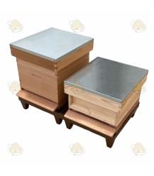 Nicot bokje voor 2 bijenkasten