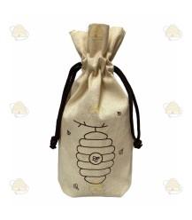 Tasje met bijenkorf voor om honingpot