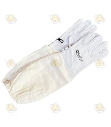 Handschoenen (leer met katoen)