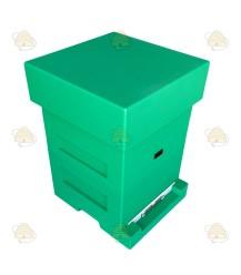Spaarkast groen gelakt polystyreen BeeFun