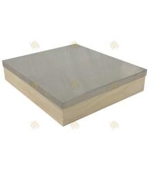Dak Spaarkast Premium grenen aluminium