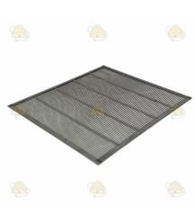 Spaarkast RVS ingekaderd koninginnerooster 47,2 x 42,2 cm
