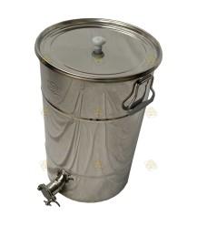 Aftapvat RVS voor 50 kg honing