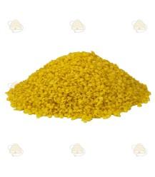 Gele bijenwas voor cosmetica per 500 gram