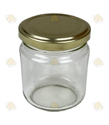 212 ml / 250 gram ronde pot, met deksel