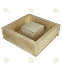 MiniPlus opzet voederbakje hout