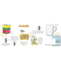 Bijen imker bekker of mok