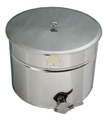Aftapvat RVS 30 liter